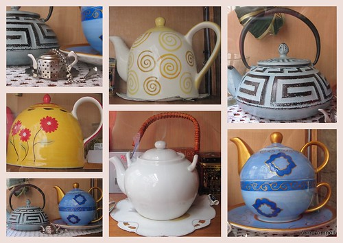 Croatian teapots from Split by Anna Amnell