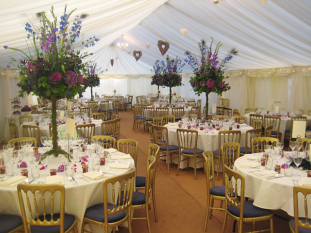 Interior of a frame marquee flickr photo sharing for Indoor marquee decoration
