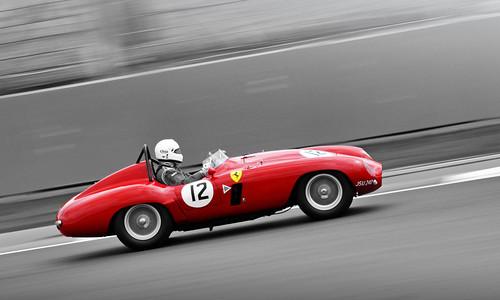 Richard Frankel's 1955 Ferrari 750 Monza No.12 - 2010 Silverstone Classic