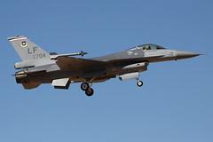 """General Dynamics F-16A Fighting Falcon s/n 93-0704, 21st FS """"Gamblers"""""""