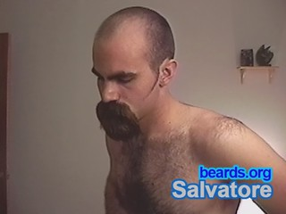 Salvatore: going goatee, part 15
