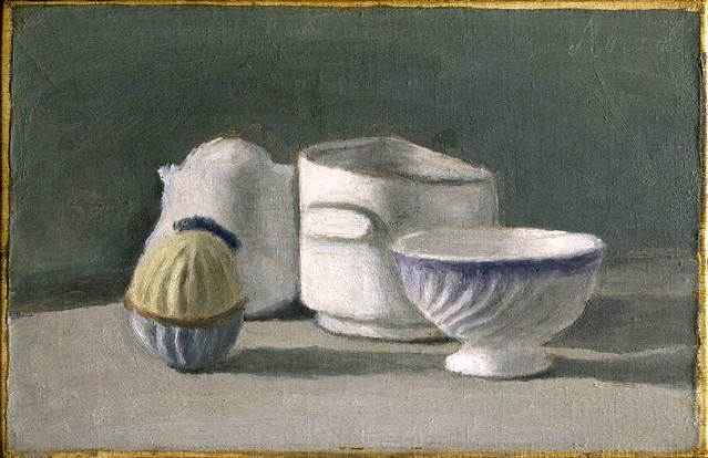 Morandi, Giorgio (1890-1964) - 1943 Still Life (Hirshhorn Museum of Sculpture Garden, Washington DC)
