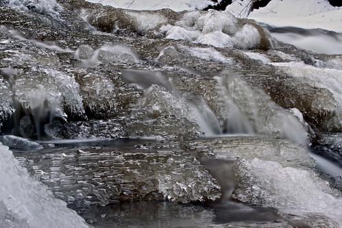 newyork ice water waterfall falls cascade rensselaerville