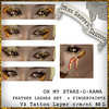 GOLD LASHES for Oh My Stars-O-Rama Gold Lashes set