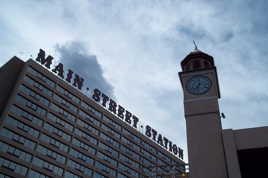 Main Street Station Hotel and Casino in Downtown Las Vegas.