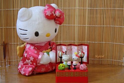 Hello Kitty Celebrates Hina Matsuri