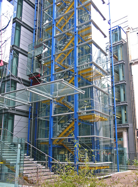 Glass Stair Towers : Lloyd s register flickr photo sharing