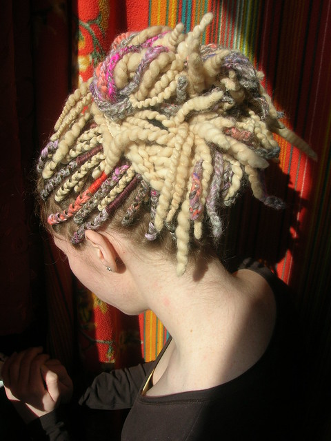 Pastel Multicolor Crochet Dreads With Blonde Wool Dreadlocks Flickr ...