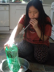 Sophia Doing Lung Capacity Experiment
