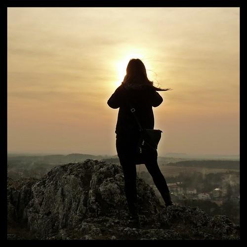 sunset sun landscape photography photographer poland polska jura olsztyn krajobraz flickraward