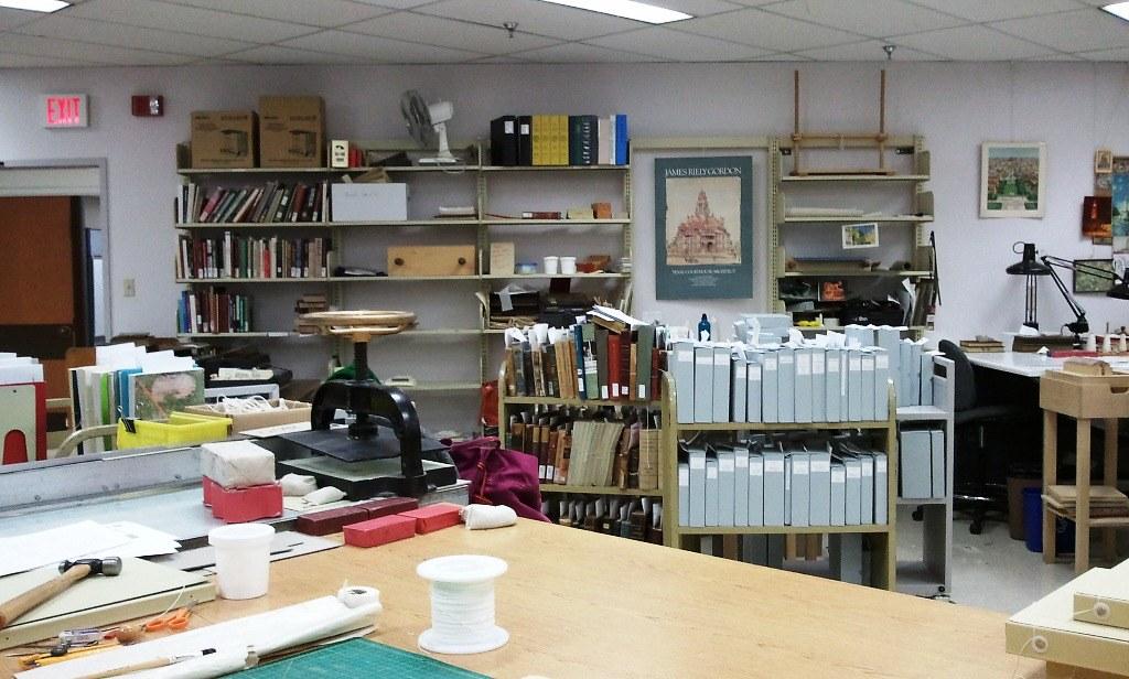 Book Repair Lab | Library book repair lab | Goreyc | Flickr