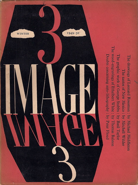 Image Magazine - Issue 3, Winter 1949 - 50, cover by Leonard Rosoman