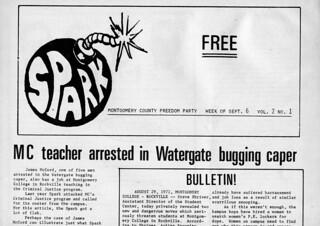 Spark Masthead Sep 1972