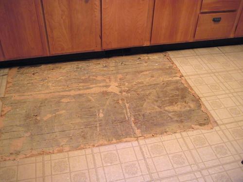 Eastlake Victorian Kitchen Floor Restoration