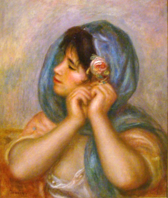 Renoir, Pierre Auguste (1905) Young Woman Arranging Her Earring