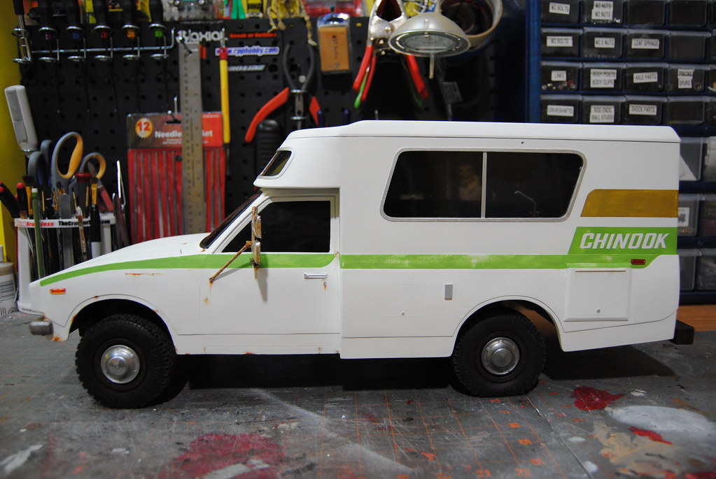 RC Dollhouse: Toyota Chinook Camper
