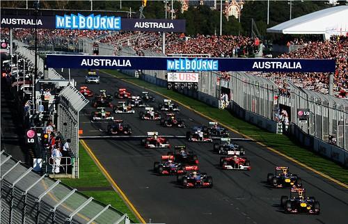 Calendário para F1 em 2013