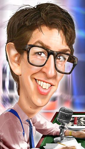 Rachel Maddow - Caricature