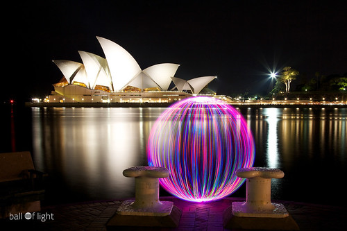 Ball of Light - Just a Quickie in Sydney