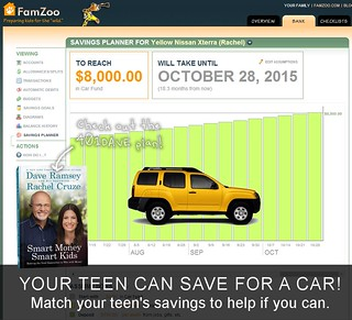 Your teen CAN save for a car. Try the 401DAVE plan.