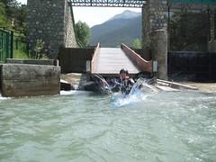 Rachel landing after the barrage slipway at Le Fontenil Image