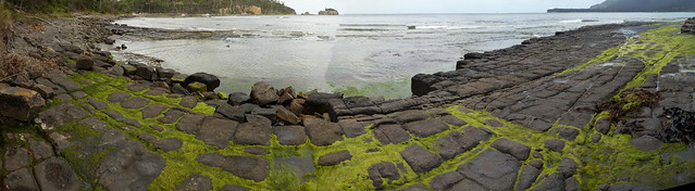 Panorama - Tessellated Pavement, Eaglehawk Neck, Tasmania
