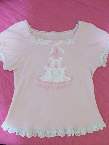 angelic pretty pink cutsew