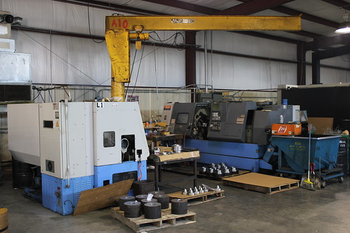 Some of our smaller CNC machines
