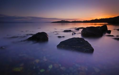 sunset water norway nikon sigma os 1020mm vann sjø d300 ndfilter bjørnefjorden nd110 tangvikfotonet