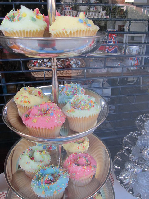 The Hummingbird Bakery at Portobello Market