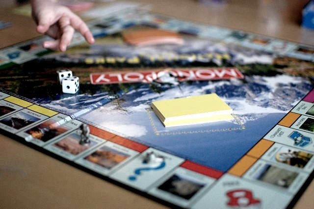 a game of monopoly