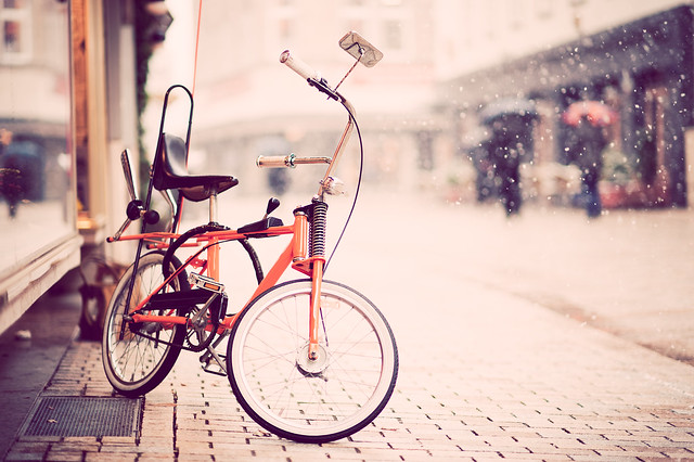 Cycle - Beautiful Bokeh Photography