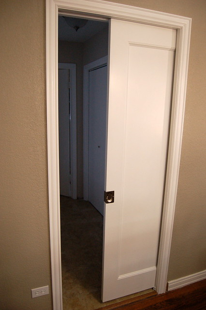 Installing Pocket Doors Bathroom : Pocket door install project flickr photo sharing