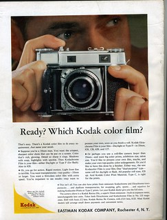 Kodak Color Film - Retina IIIc - 1957