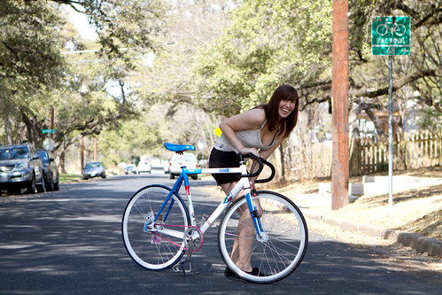 A Girl and Her Bike: Lauren and Her Cinelli Vigorelli