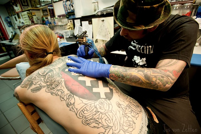 Amsterdam tattoo by peter toornvliet flickr photo sharing for Tattoo amsterdam walk in