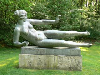 Aristide Maillol: L'Air, bronze sculpture