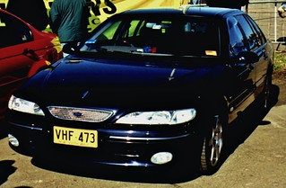 1998 Ford NL Fairlane Tickford - NSW Police