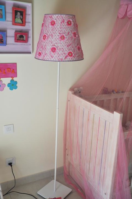 girl floor lamp easy to match in girls rooms this. Black Bedroom Furniture Sets. Home Design Ideas