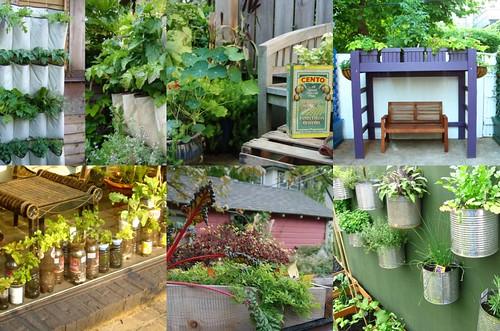 5 unique vegetable gardens harmonic mama for Unique vegetable garden designs