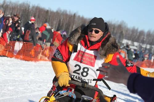 2011 Iditarod Restart_Mitch Seavey 1