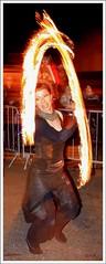 Arche de feu et déesse de cuir