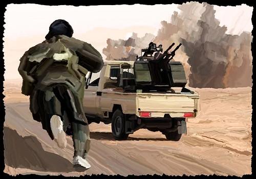 asithappens newspaintedwhenithappens libyaantigaddafizawiya