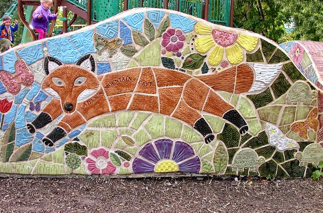 Mosaic memorial park manitou springs co flickr - Memorial gardens colorado springs ...