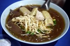 noodle(0.0), bãºn bã² huế(0.0), mi rebus(0.0), lamian(0.0), soto ayam(0.0), beef noodle soup(0.0), noodle soup(1.0), kuy teav(1.0), kalguksu(1.0), food(1.0), dish(1.0), haejangguk(1.0), laksa(1.0), soup(1.0), cuisine(1.0),