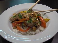 Ginger Beef with Coconut Rice 3