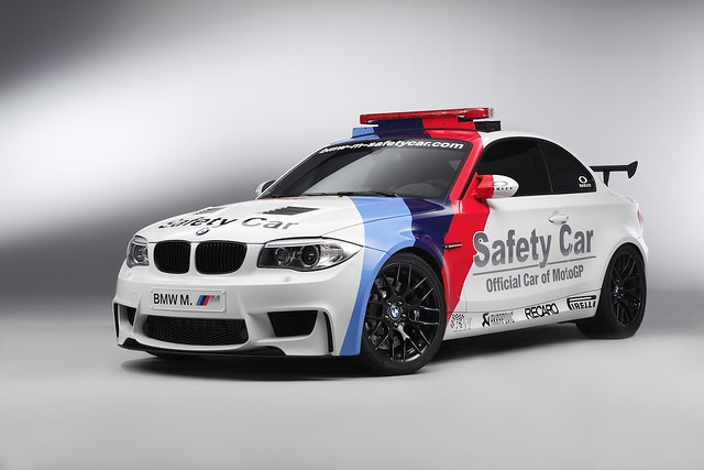 BMW 1-Series M Coupe Safety Car