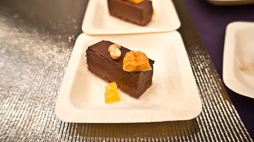 Peanut butter chocolate bar@EBO Restaurant