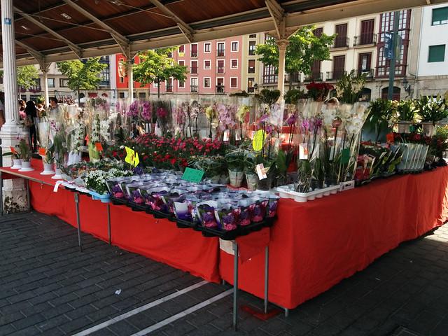 flower market @ El Arenal
