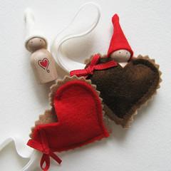 Chocolat hearts..  hummmm...!!